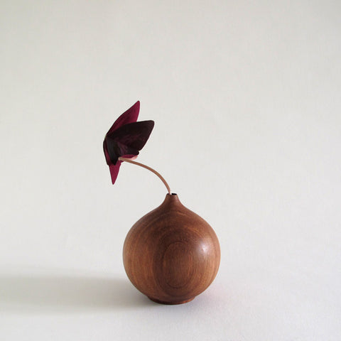 onion vase | red beech