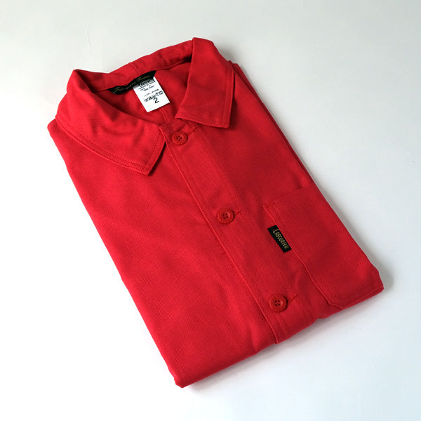 le laboureur french workers jacket | red