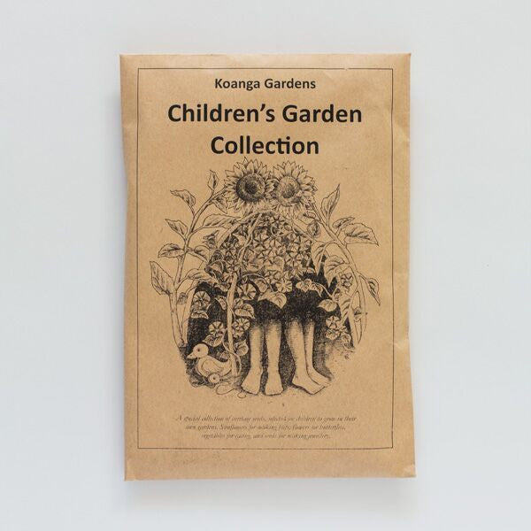 children's garden seed collection