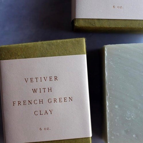 saipua soap | vetiver with french green clay