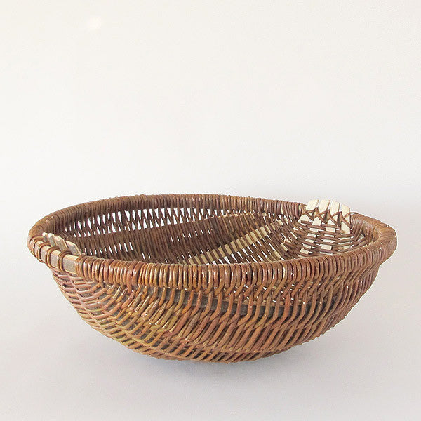 french willow basket | large