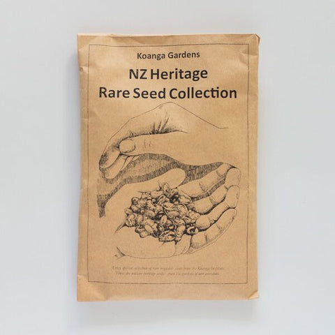 new zealand heritage rare seed collection