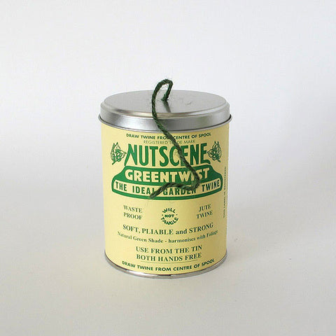 tin of twine | green