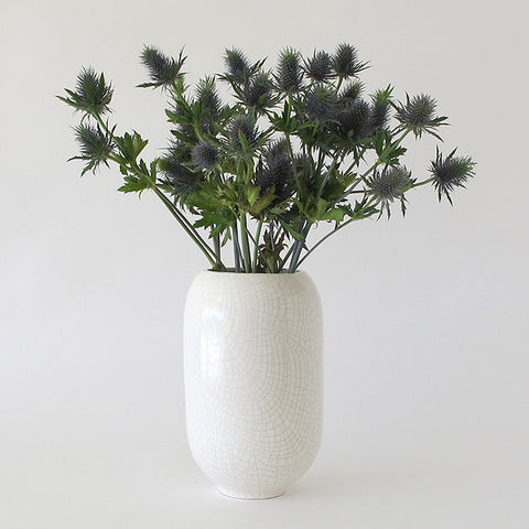 gidon bing ovum vase | crackled