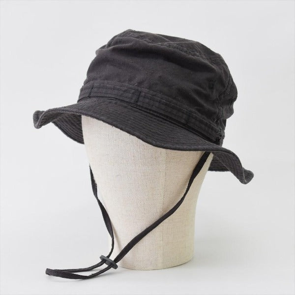 japanese work hat | off black