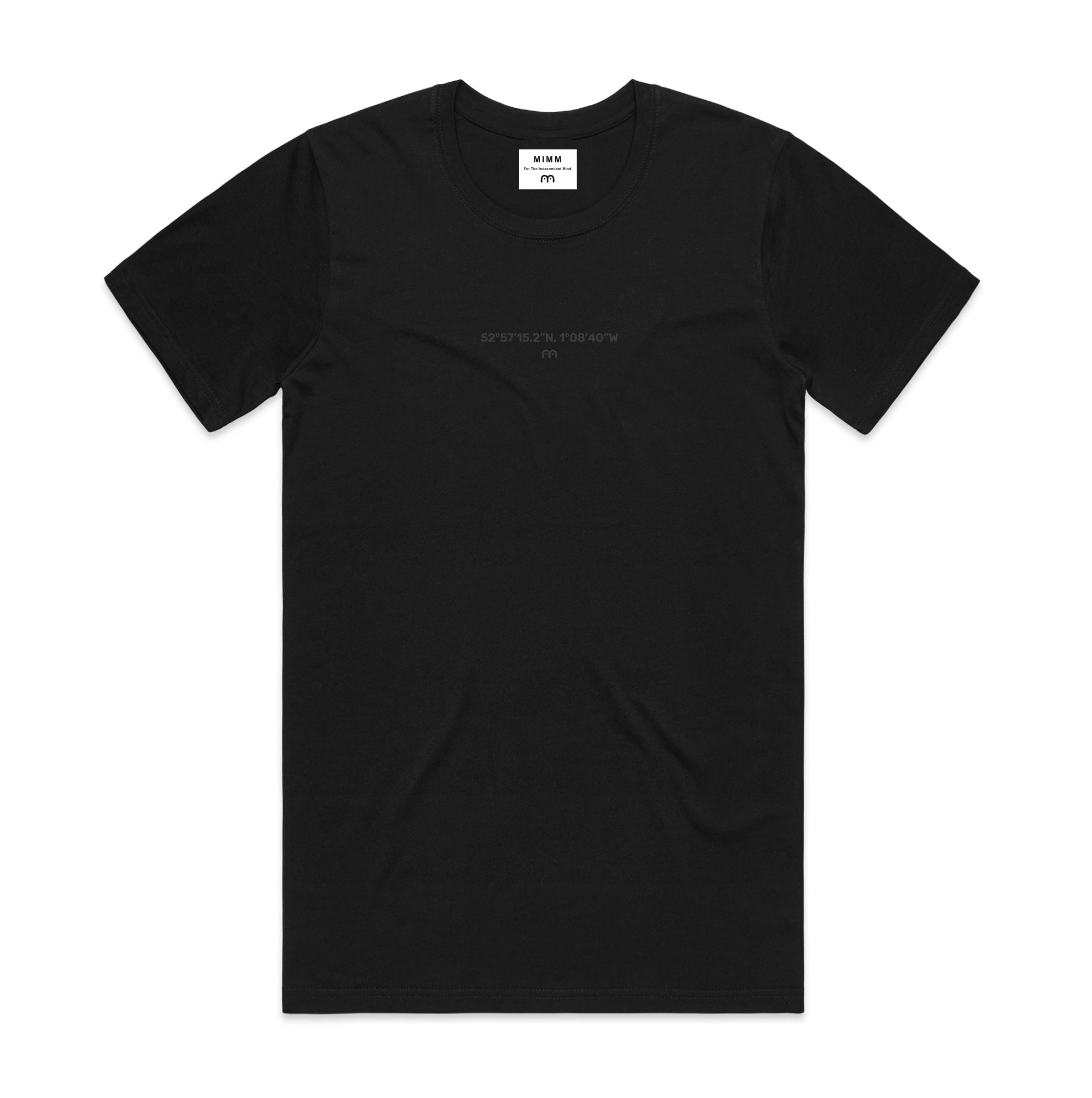Coordinates Tee by Ty Kelley (Black)