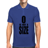 0 is not a size (zero) – Brooke Davis, One Tree Hill Mens Polo