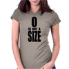 0 is not a size (zero) – Brooke Davis, One Tree Hill Womens Fitted T-Shirt