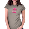 #0 Pink Camo Womens Fitted T-Shirt