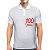 0 To 100 Real Quick Slogan Mens Polo
