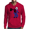 00-Panda taking aim with gun Mens Hoodie