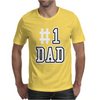 #1 DAD Mens T-Shirt