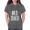 #1 DAD Womens Polo