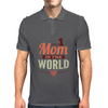 #1 Mom In The World Mens Polo