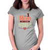 #1 Mom In The World Womens Fitted T-Shirt
