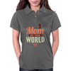 #1 Mom In The World Womens Polo