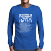 10 Reasons To Be With A Pharmacist Mens Long Sleeve T-Shirt