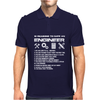 10 Reasons To Be With An Engineer Mens Polo