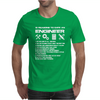 10 Reasons To Be With An Engineer Mens T-Shirt