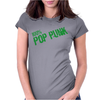 100% Pop Punk Mens V Neck Womens Fitted T-Shirt