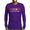 118, I WANT YOUR NUMBER Mens Long Sleeve T-Shirt