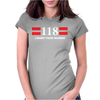 118, I WANT YOUR NUMBER Womens Fitted T-Shirt