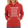 12 Days of Nursing Womens Hoodie