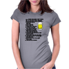 12 Reasons Beer Better Women Funny Humor Geek Womens Fitted T-Shirt
