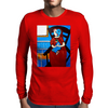1938 WOMAN AND BABY IN CHAIR  PICASSO Mens Long Sleeve T-Shirt