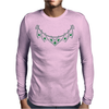 1950s emerald and diamond necklace Mens Long Sleeve T-Shirt