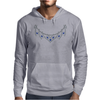 1950s Sapphire and Diamond Necklace Mens Hoodie