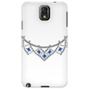 1950s Sapphire and Diamond Necklace Phone Case