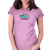 1955 Chevy Hardtop Coupe Gone Surfing Womens Fitted T-Shirt