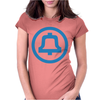 1969 Bell System Logo. Womens Fitted T-Shirt