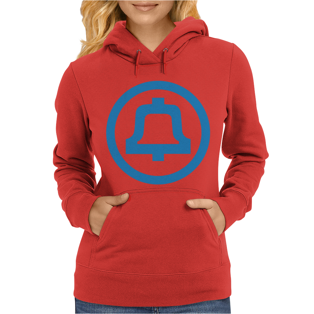 1969 Bell System Logo. Womens Hoodie