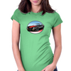 1970s Black Camaro Z28 RS Womens Fitted T-Shirt
