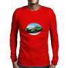 1970s Green Chevy Camaro Z28 SS GW Mens Long Sleeve T-Shirt