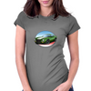 1970s Green Chevy Camaro Z28 SS GW Womens Fitted T-Shirt