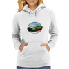 1970s Green Chevy Camaro Z28 SS GW Womens Hoodie