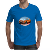 1970s Orange Camaro Z28 SS OW Mens T-Shirt