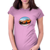 1970s Orange Camaro Z28 SS OW Womens Fitted T-Shirt