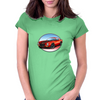1970s Red Chevy Camaro Z28 SS RB Womens Fitted T-Shirt