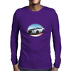 1970s White Chevy Camaro Z28 SS WB Mens Long Sleeve T-Shirt