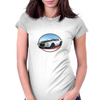 1970s White Chevy Camaro Z28 SS WB Womens Fitted T-Shirt