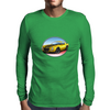 1970s Yellow Chevy Camaro Z28 SS YB Mens Long Sleeve T-Shirt