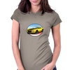 1970s Yellow Chevy Camaro Z28 SS YB Womens Fitted T-Shirt