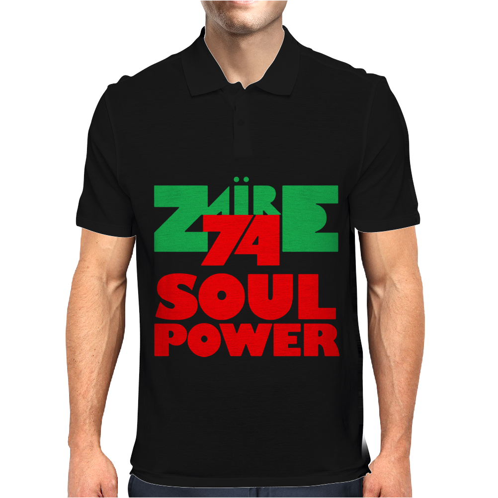 1974 Zaire Music Festival Mens Polo