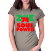1974 Zaire Music Festival Womens Fitted T-Shirt