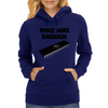 1MHZ WAS ENOUGH (Processor from the Commodore 64) Womens Hoodie