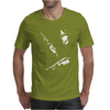 2 Guns FUNNY Mens T-Shirt